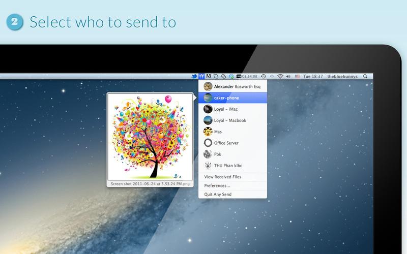 Any Send - Imagem 1 do software