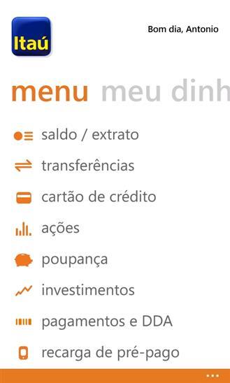 Itaú - Imagem 2 do software