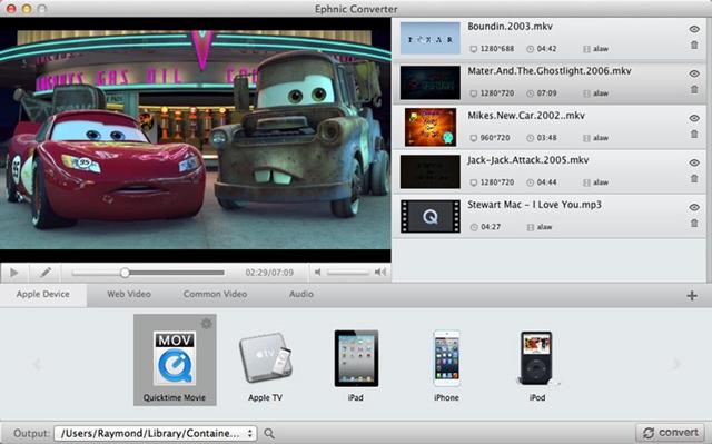 Ephnic Video Converter - Imagem 1 do software