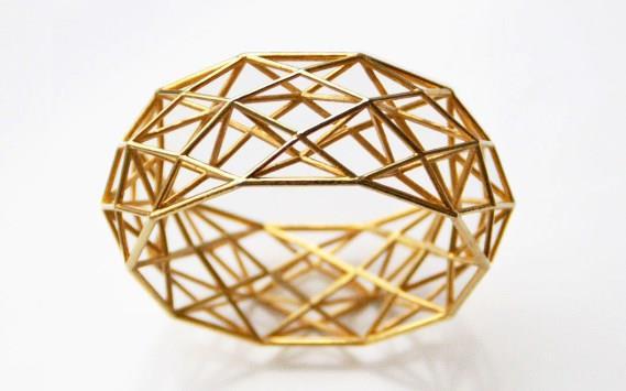 Bracelete feito por impressão 3D