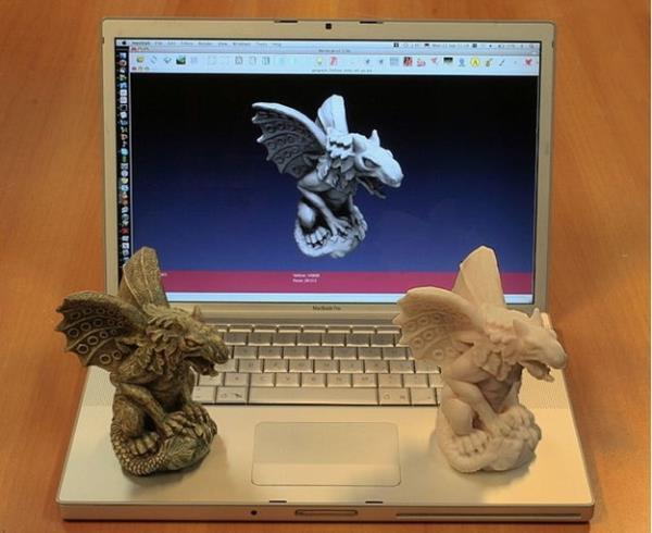 Scan e impressão 3D