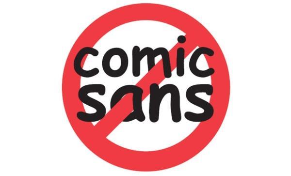 414b3cd5af3 Comic Sans  uma das fontes mais usadas e ao mesmo tempo mais odiadas. (Fonte  da imagem  Reprodução Ban Comic Sans)