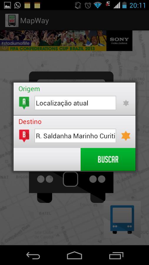 MapWay - Imagem 1 do software