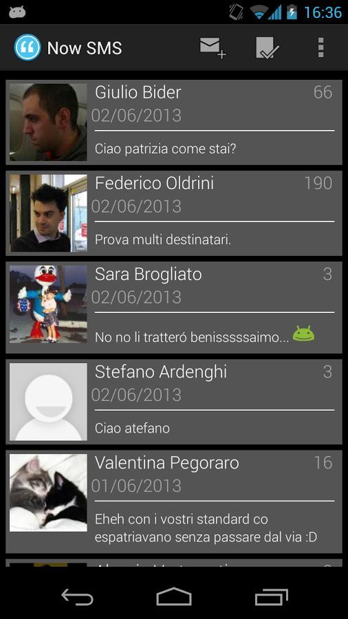 Now SMS - Imagem 1 do software