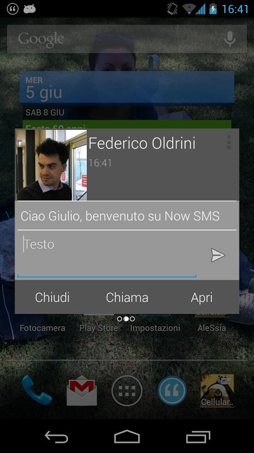 Now SMS - Imagem 2 do software