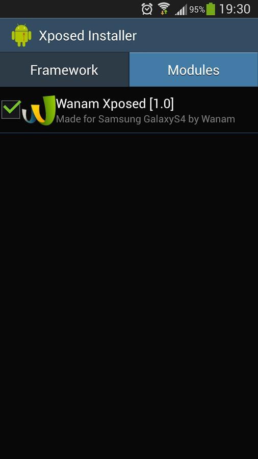 Wanam Xposed - Imagem 1 do software