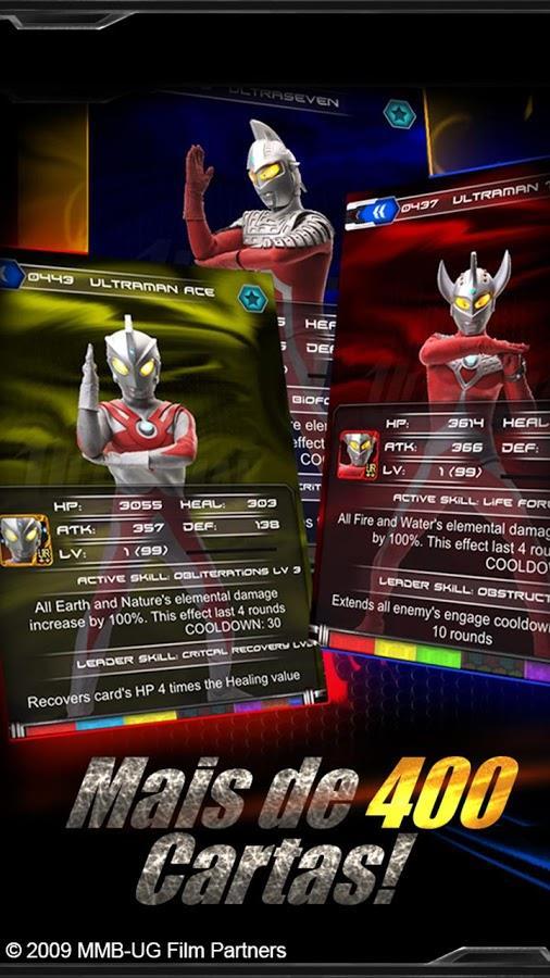 Galáxia Ultraman - Imagem 2 do software