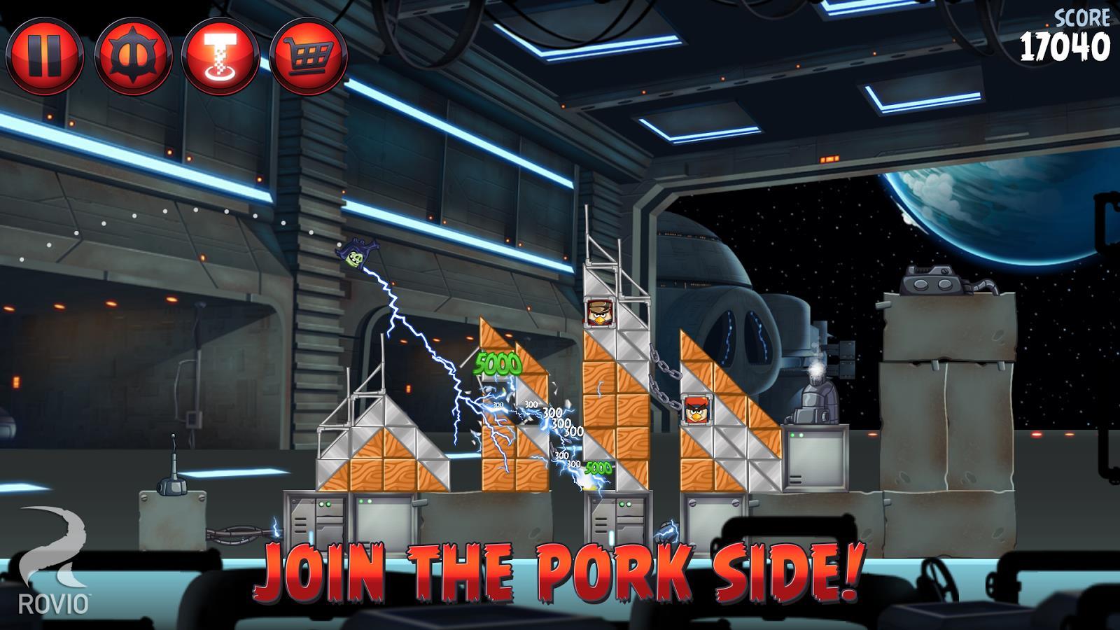 Angry Birds Star Wars II Free - Imagem 1 do software