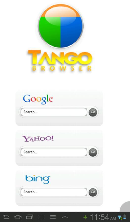 Tango Browser - Imagem 1 do software