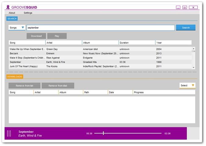 Groovesquid - Imagem 1 do software