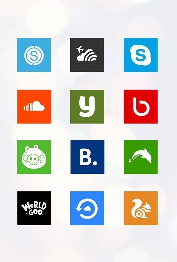 2colors icons Apex/GO/Nova/ADW - Imagem 2 do software