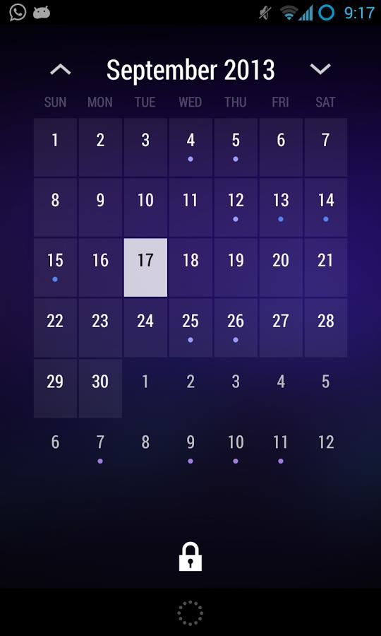 Today - Calendar Widget - Imagem 1 do software