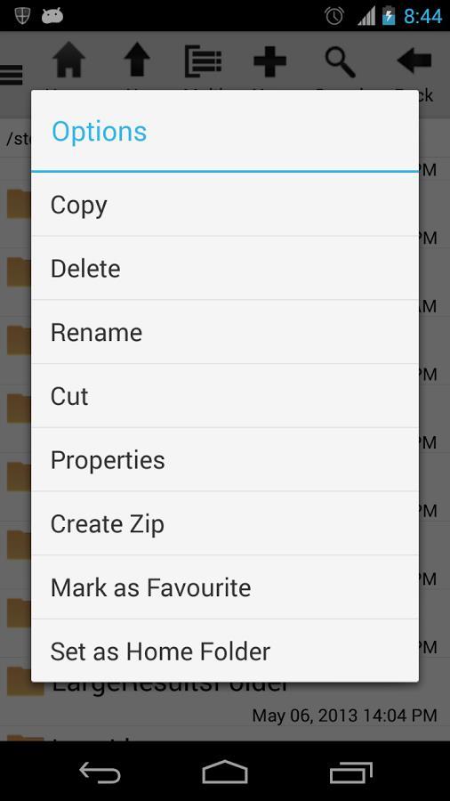SD File Manager - Imagem 2 do software
