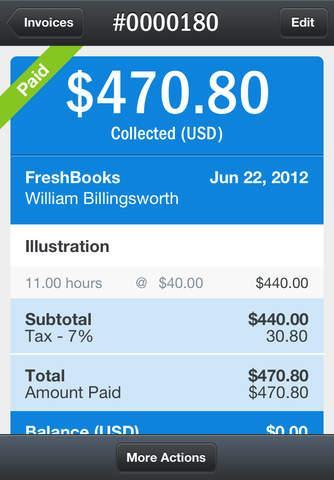 FreshBooks Cloud Accounting - Imagem 3 do software