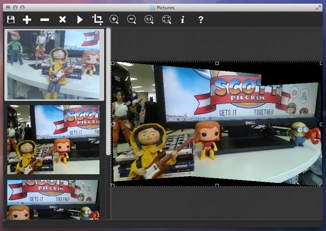 PhotoStitcher - Imagem 2 do software