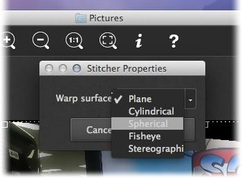 PhotoStitcher - Imagem 1 do software