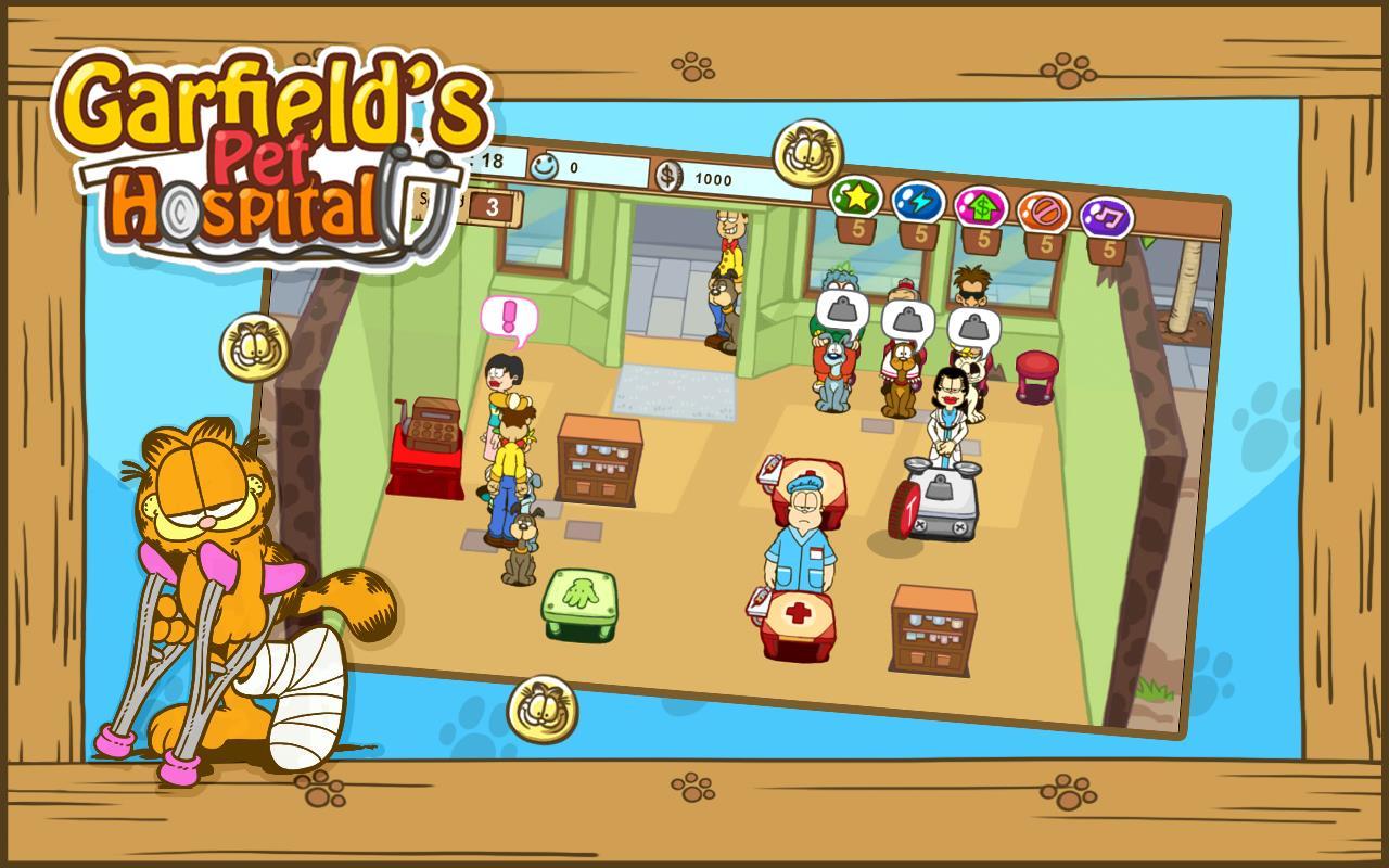 Garfield`s Pet Hospital - Imagem 1 do software