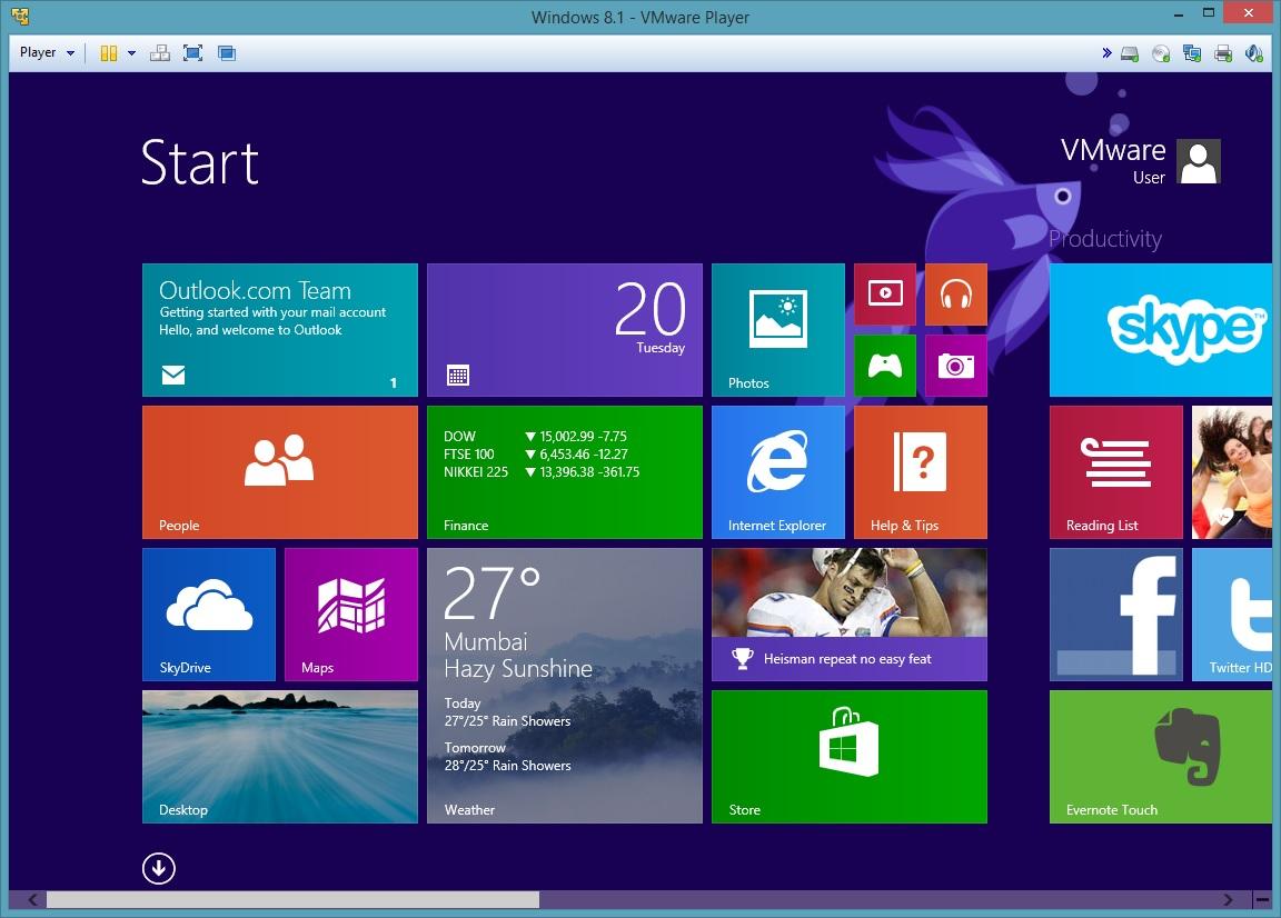 VMware Player - Imagem 1 do software