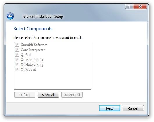 Gramblr - Imagem 1 do software