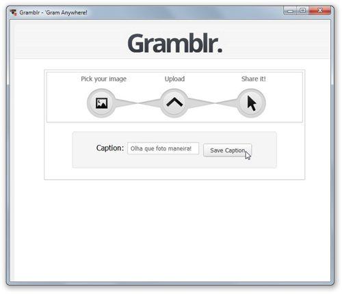 Gramblr - Imagem 2 do software
