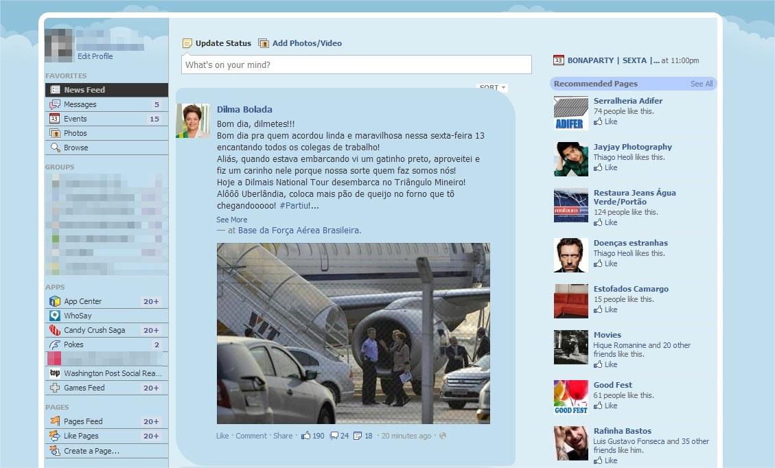 Facebook Themes - Imagem 1 do software