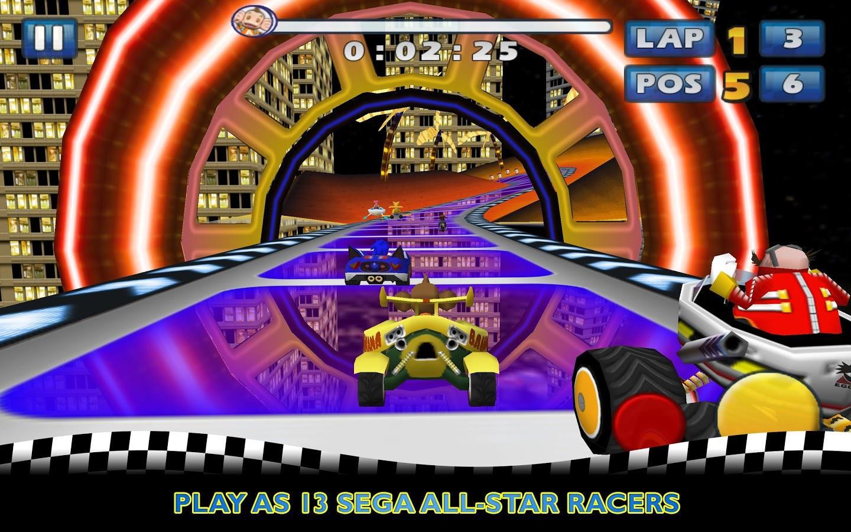 Sonic & SEGA All-Stars Racing - Imagem 1 do software