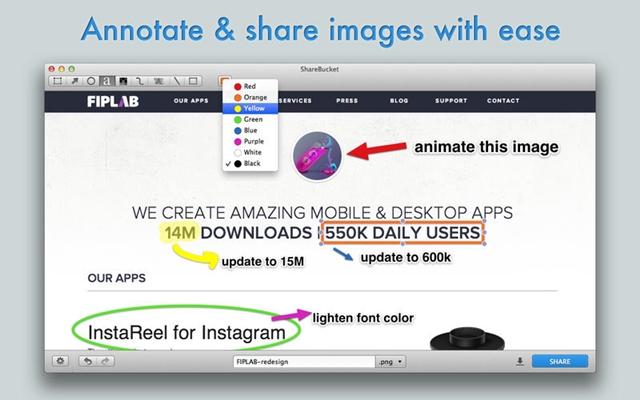Share Bucket - Imagem 2 do software