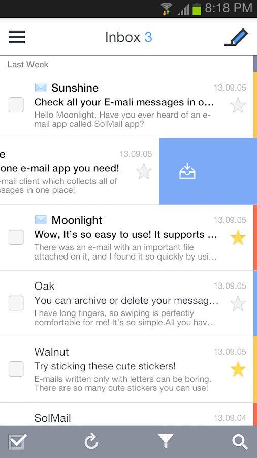 SolMail - Imagem 2 do software