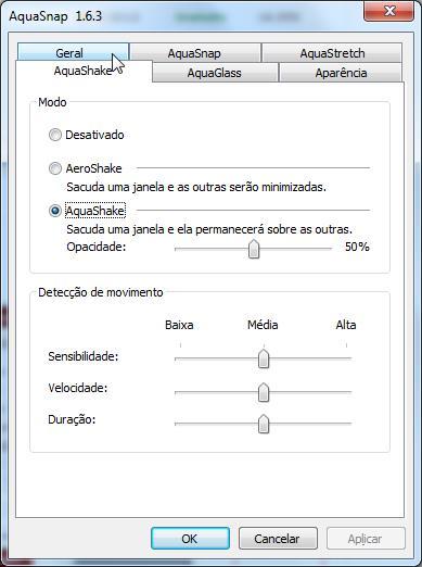 AquaSnap - Imagem 3 do software