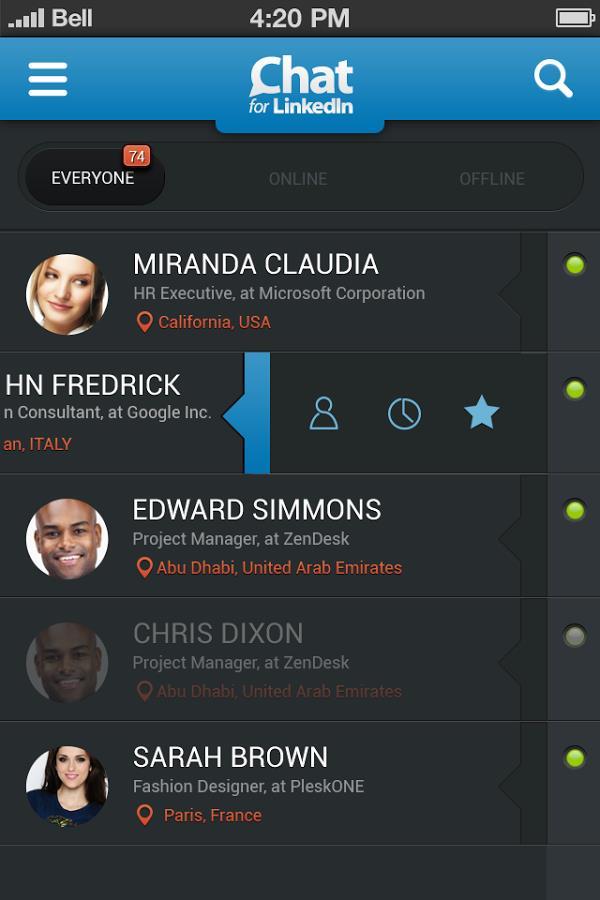 Chat for LinkedIn - Imagem 1 do software