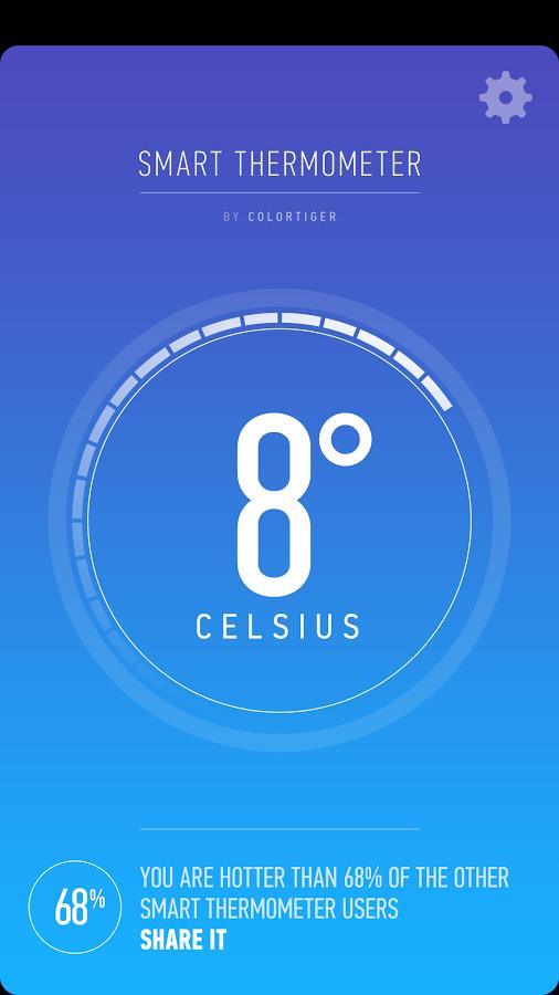 Smart Thermometer - Imagem 2 do software
