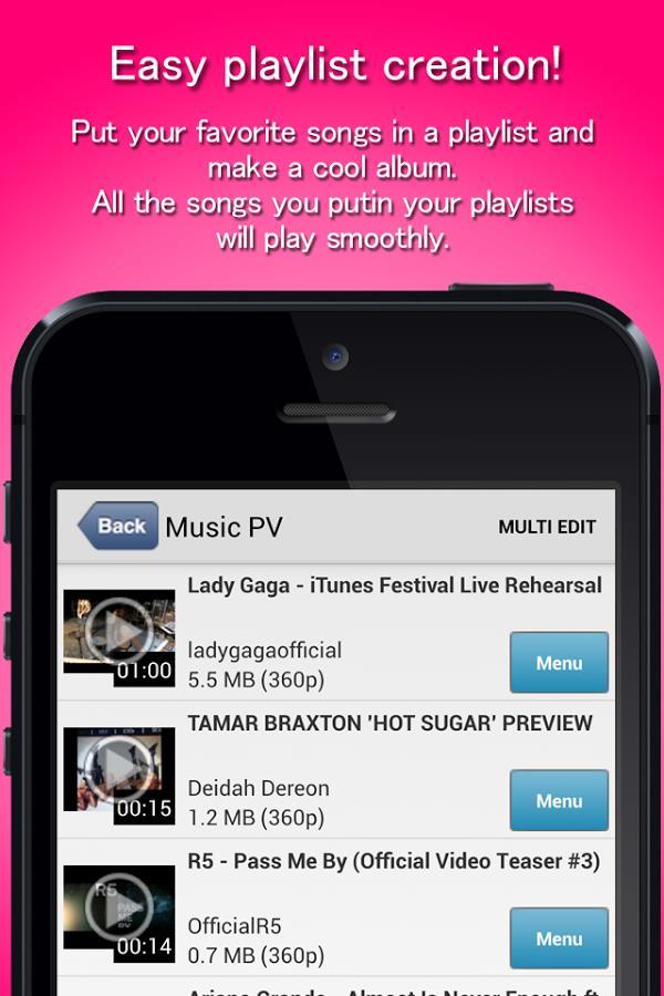 MusicClip:YouTube Music Video - Imagem 2 do software