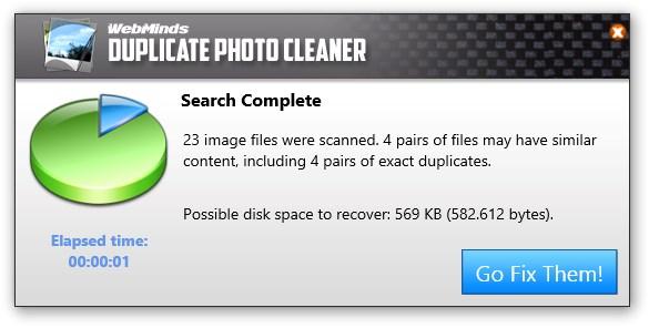 Duplicate Photo Cleaner - Imagem 2 do software