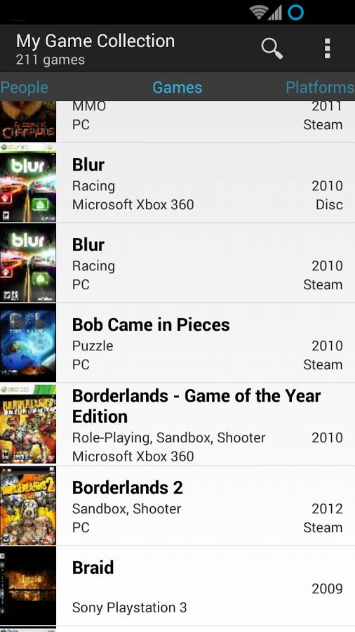 My Game Collection - Imagem 2 do software