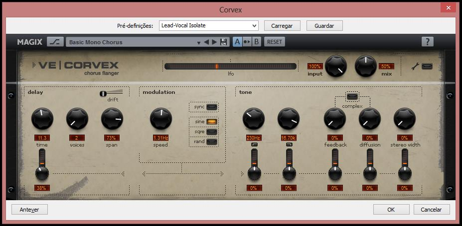 MAGIX Vintage Effects Suite - Imagem 1 do software