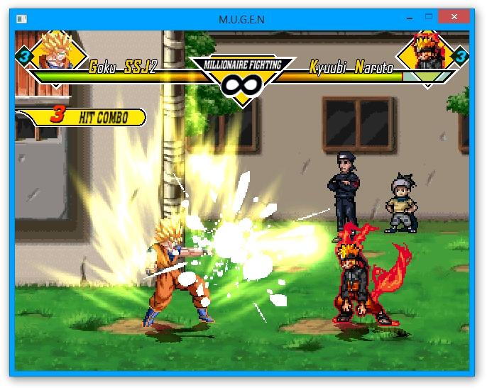 Dragonball Z Vs Naruto