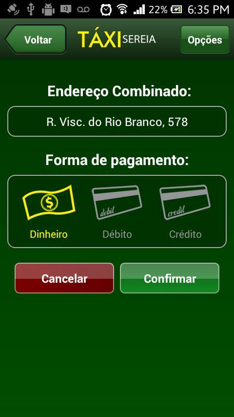 Taxi Sereia - Taxi em Curitiba - Imagem 2 do software