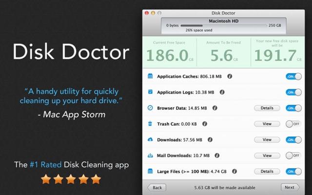 Disk Doctor - Imagem 1 do software