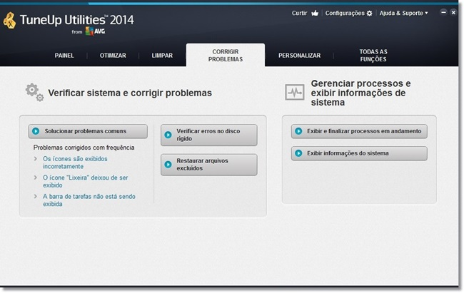 TuneUp Utilities - Imagem 5 do software