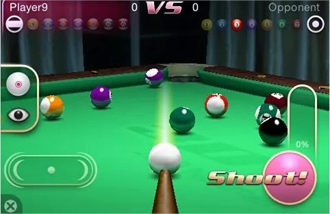 3D Pool Master Deluxe - Imagem 1 do software