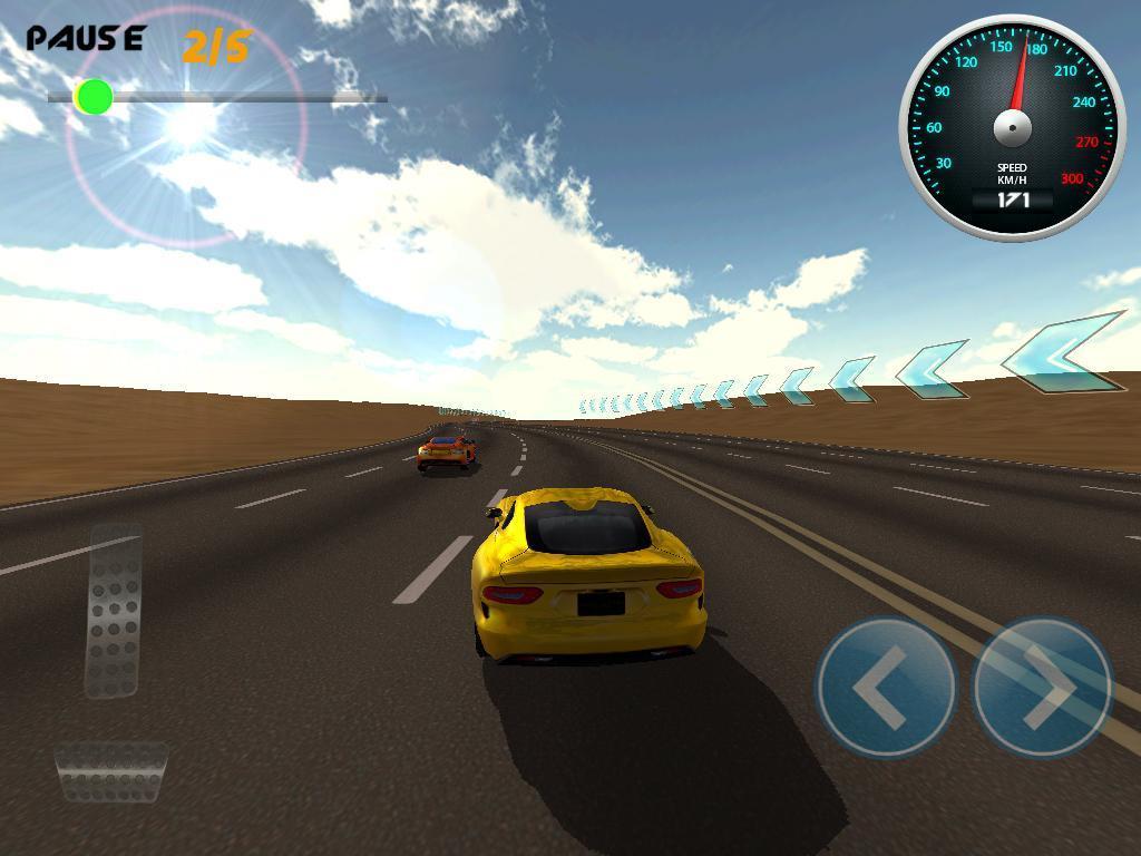 Burning Wheels 3D Racing - Imagem 1 do software