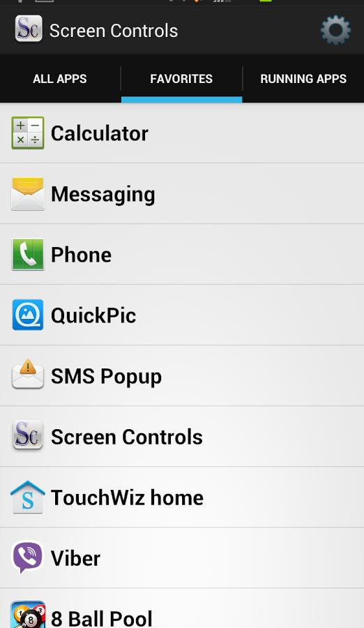 Screen Controls - Imagem 2 do software