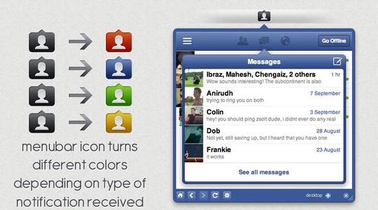 MenuTab Pro for Facebook - Imagem 1 do software