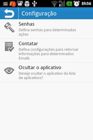 AntiFurto Droid WEB - Imagem 1 do software