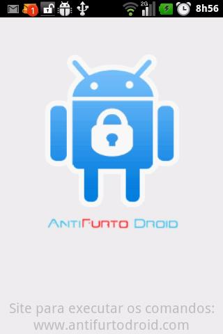 AntiFurto Droid WEB - Imagem 2 do software