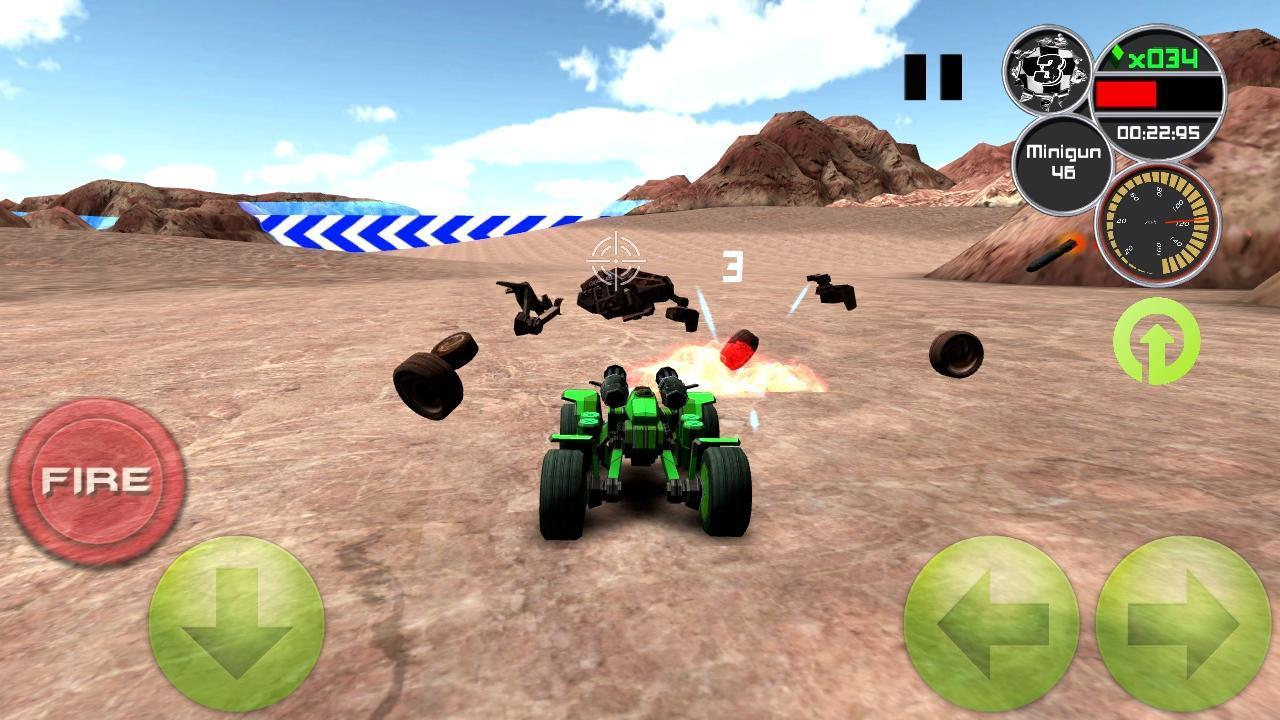 Doom Buggy 3D Racing - Imagem 1 do software