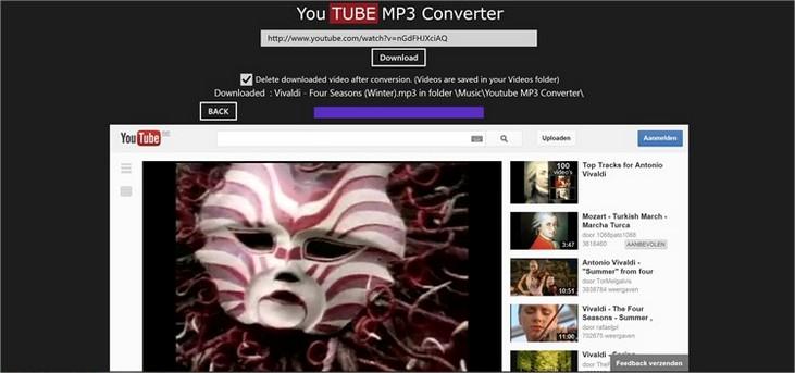 YouTube MP3 Converter.