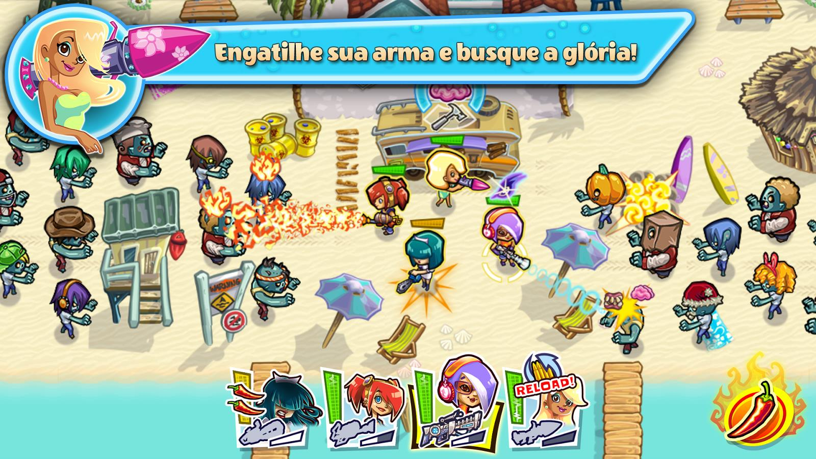 Guns`n`Glory Zombies - Imagem 1 do software