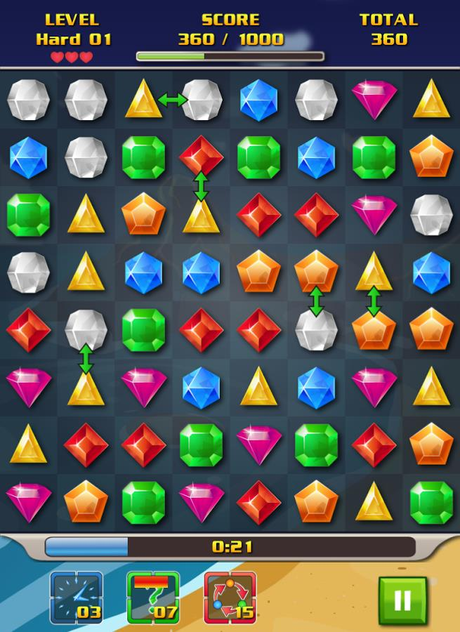 Corsair`s Jewels Deluxe - Imagem 1 do software