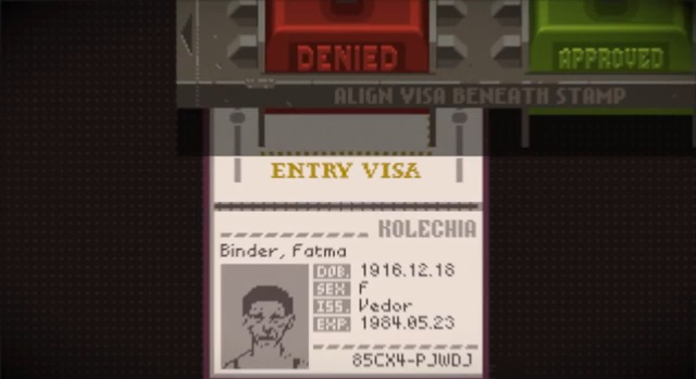 Papers, Please - Imagem 1 do software